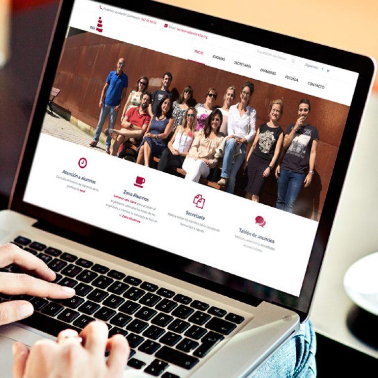 escuela de idiomas de laredo web